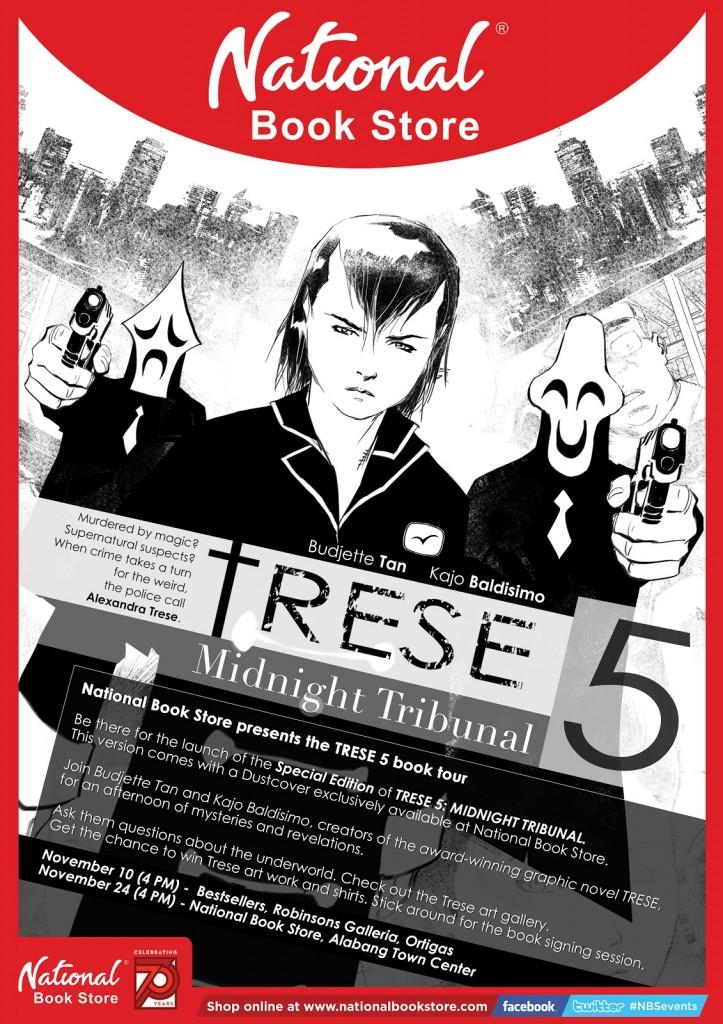 Poster - Trese 5 - Budjette Tan and Kajo Baldisimo